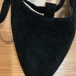 Nine West Shoes - Black velvet heels